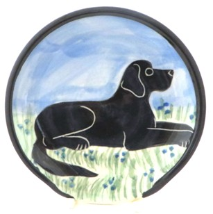 Labrador Black -Deluxe Spoon Rest